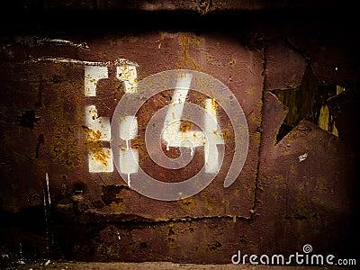 Stencil number