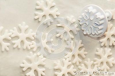 Stencil for sugar paste