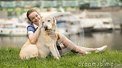 knullad av en hund