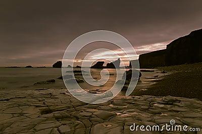 Stenig shoreline