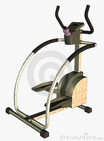 Step Exercise Machine Royalty Free Stock Images - Image: 13245539