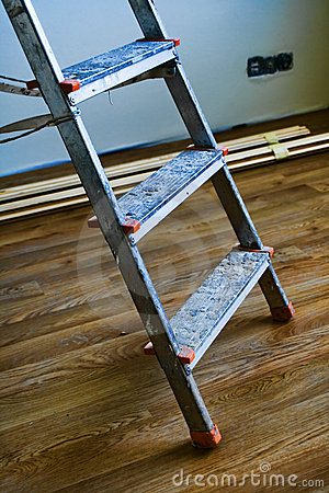 Step ladder detail