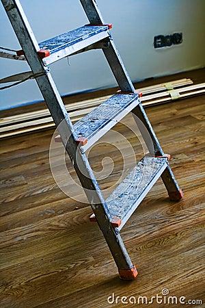 Step ladder detail