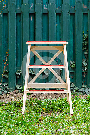Step ladder garden