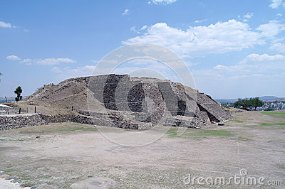Step Pyramid in Teotihuacan