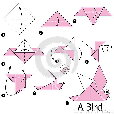 How to make a Paper Bird: Easy Origami Paper Bird Instructions | 400x400