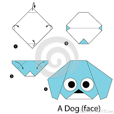 How to Make an Origami Dog Face: 5 Steps (with Pictures) - wikiHow | 400x400
