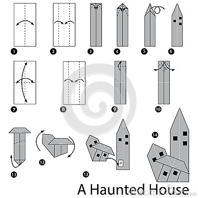 origami house 3d instructions