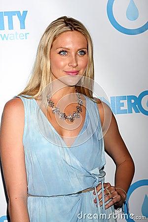 Stephanie Pratt arrives at the 4th Annual Night of Generosity Gala Event Editorial Photo
