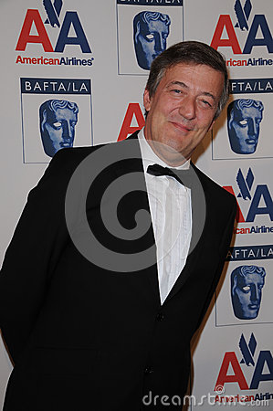 Stephen Fry Editorial Stock Image