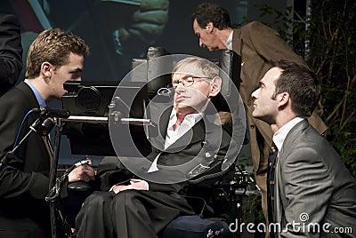 Stephen Hawking Editorial Image