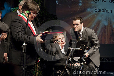 Stephen Hawking Editorial Image