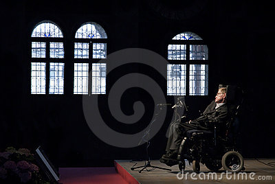 Stephen Hawking Editorial Stock Photo