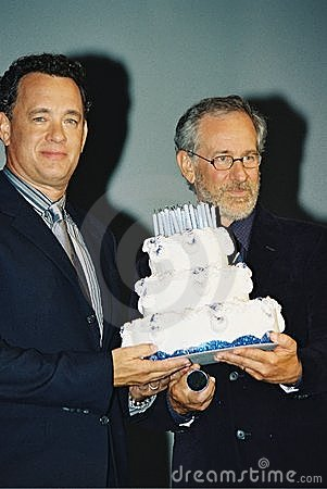 Stephen Speilberg and  Tom Hanks Editorial Stock Photo