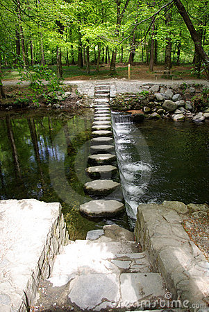 Free Stepping Stones Stock Images - 9474354