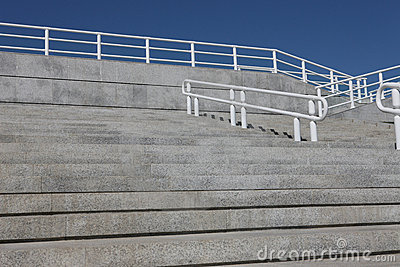 Steps and Handrail