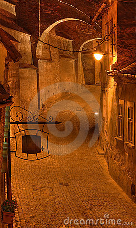 Steps passage-Sibiu,Romania