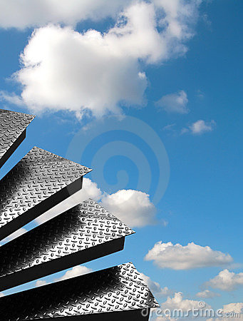 Steps in sky