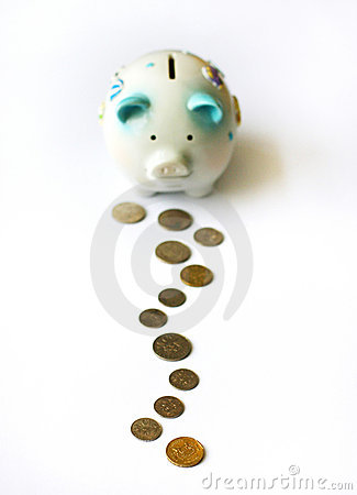 Free Steps To Saving Up Stock Image - 4837101