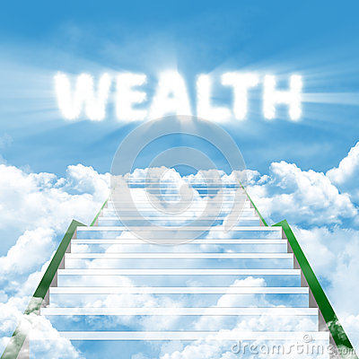 The steps to wealth
