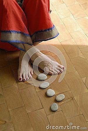 Free Steps To Yoga Royalty Free Stock Photos - 4382848