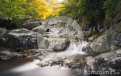 3 steps waterfall