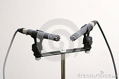 Stereo пар микрофона