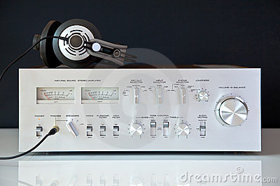 Stereo Hifi Analog Vintage Amplifier