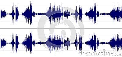 Stereo sound spectrum