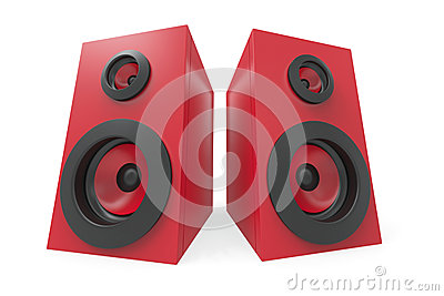 Stereo Speakers Royalty Free Stock Photos - Image: 28828718