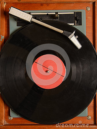 Free Stereo Turntable Vinyl Record Player Analog Retro Vintage Royalty Free Stock Photo - 63552145