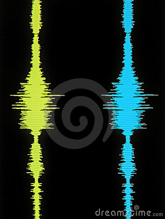 Stereo Vertical Waveform