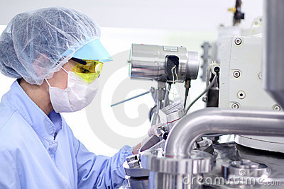 Sterile Environment - Pharmaceutical Factory
