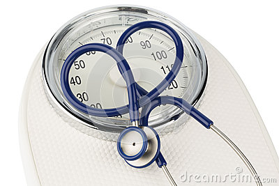 Stethoscope and balance