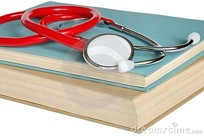 Stethoscope And Books