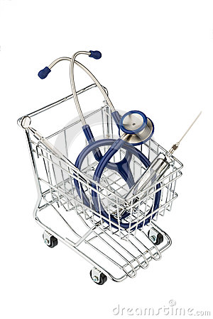 Stethoscope and cart