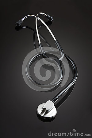Stethoscope with clipping path