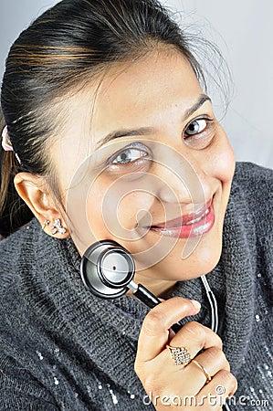 Stethoscope girl
