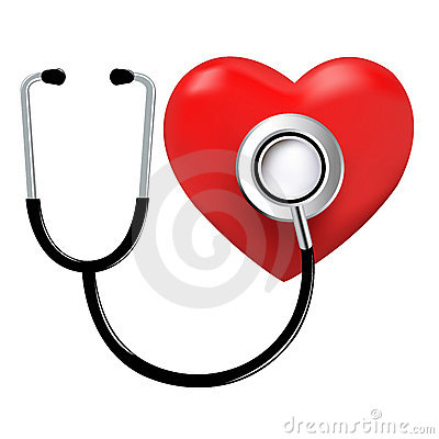 Stethoscope And Heart. Vector