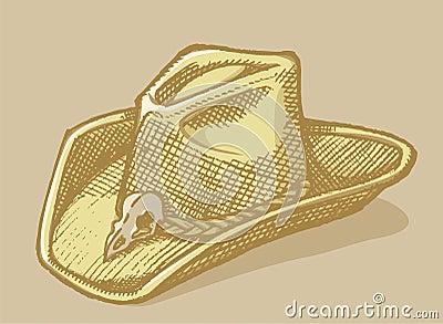 Stetson hat sketch
