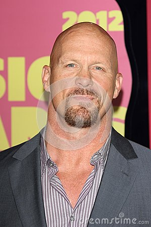 Steve Austin at the 2012 CMT Music Awards, Bridgestone Arena, Nashville, TN 06-06-12 Editorial Stock Photo