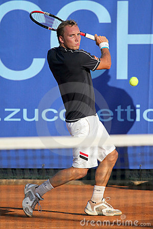 STEVE DARCIS, ATP TENNIS PLAYER Editorial Photo