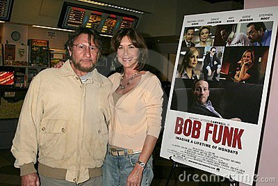 Steve Goldstein and Terri Mann at the Los Angeles Premiere Of  Bob Funk . Laemmle s Sunset 5 Theatres, Los Angeles, CA. 02-27-09 Editorial Photo