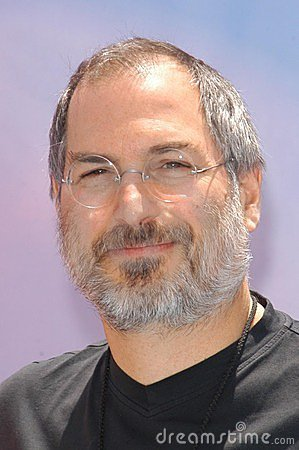 Steve Jobs Editorial Stock Photo