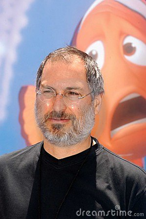 Steve Jobs Editorial Stock Image