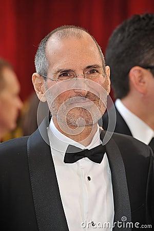 Steve Jobs Editorial Stock Image