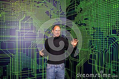 Steve Jobs Editorial Stock Photo