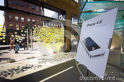 Steve Jobs Memorial NYC Editorial Photography