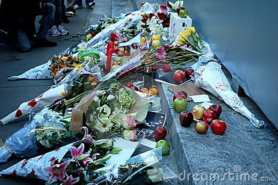 Steve Jobs Remembered Editorial Stock Image