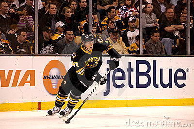 Steve Kampfer Boston Bruins Editorial Image